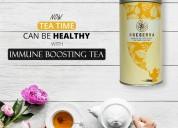 Turmeric curcumin tea for immune boosting