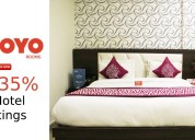 Flat 35% off hotel bookings