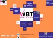 Web booster tech: the best digital marketing train