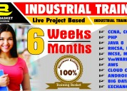 Best 6 months project based industrial training