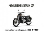 Rent a bike in goa airport - goa bikes inc.