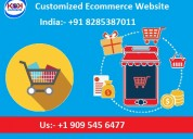 Customized ecommerce website starts just 14999 inr