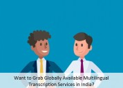 Grab globally available multilingual transcription