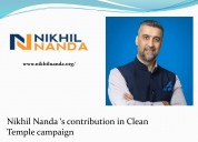 Nikhil Nanda Philanthropist in India-youth leaders