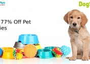 Up to 77% off pet supplies