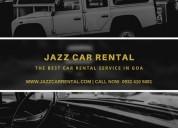 Best self drive car rental in goa- jazz car rental