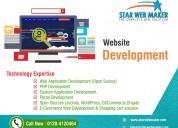 web development in noida - star web maker services