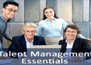 Talent management essentials