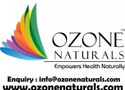 Ozone naturals : almond oils supplier from india