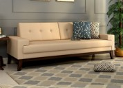 Get beautiful wooden couch online in bangalore