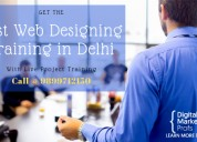Best web designing training in delhi