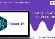 Zinavo   react js website development company