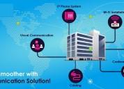 Hybrid communication service provide by coreip