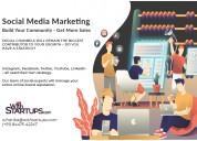 Social media marketing withstartups.com