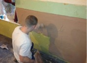 wall dampness treatment services