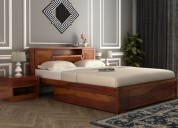 Find stylish space saving beds online in india