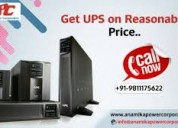 Get affordable services of ups on rent in delhi