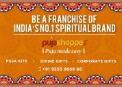 Buy the franchisee of pooja items business in indi