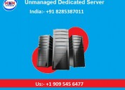 Unmanaged dedicated server available at very low p