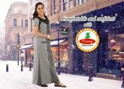 Buy womens 100% pure cotton night dress online