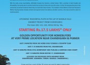 Residential plots near pgi chandigarh just 1750000