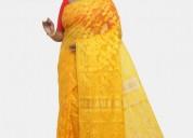 Buy best quality dhakai saree from bnarasi niketan