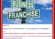 Do you want to do a franchise business in india?