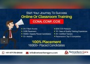 Online training institute for ccna, ccnp & ccie