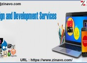 Zinavo | corporate website design and dvelopement