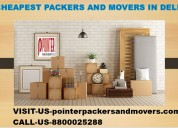 Cheapest packers and movers in delhi