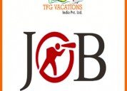 Tourism company hiring candidate direct joinings