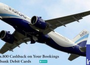 Upto rs 800 cashback on your bookings via digibank