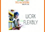 Online promotion works from home