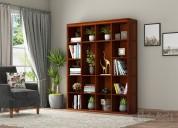 Bookshelves: get solid wood book shelf online