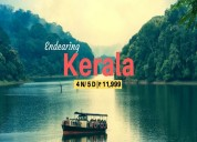 Exclusive kerala holiday tour packages offer