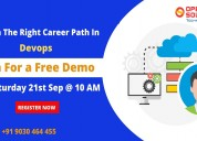 Free dev ops demo on 21st sep 2019 @ 10 am