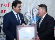 Sandeep marwah appreciated by president of mongoli
