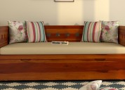 Wooden divan for sale in noida at woodenstreet