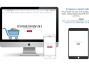 Ecommerce services and software