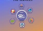 Custom php development company| php development co