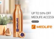 Medlife coupons, deals & offers: flat 20% off