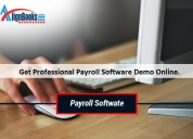 Get professional payroll software demo online.
