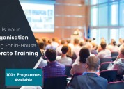On-site employee learning and development training
