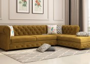 Heavy discount on l shape sofa in jaipur online at