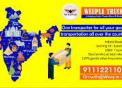 Weeple logistics - best indore - all india transpo