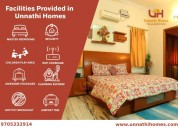 Guest house services  in hyderabad at unnathi home