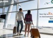 Save up to rs.5000 on international return flights