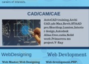 Web designing, digital marketing, autocad training