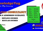 B.a. admission going on through knowledge yug