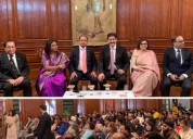 Sandeep marwah addressed british indians at india